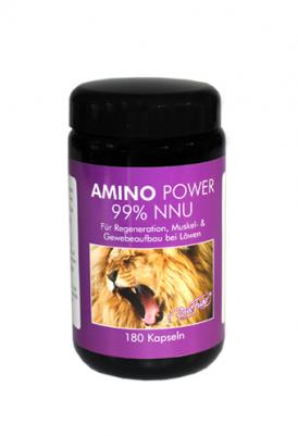 Amino Power für Löwen - 99% NNU - 180 Kapseln - Robert Franz