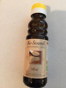 Bio-Sesamöl - nativ  100ml